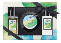 W7 - BATH & BODY SET - Body Care Set - SEA SALT & SAGE - OCEAN SPICE