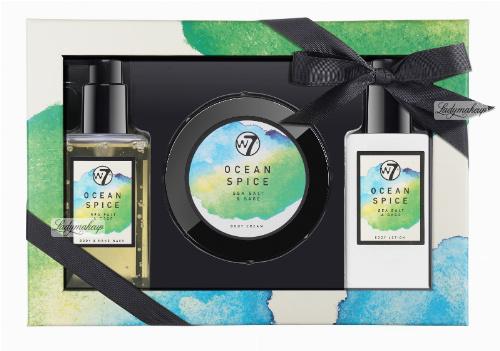 W7 - BATH & BODY SET - Zestaw kosmetyków do pielęgnacji ciała - SEA SALT & SAGE - OCEAN SPICE