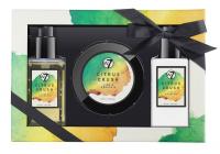 W7 - BATH & BODY SET - Zestaw kosmetyków do pielęgnacji ciała - LIME & MANDARIN - CITRUS CRUSH