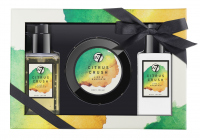 W7 - BATH & BODY SET - LIME & MANDARIN - CITRUS CRUSH
