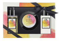 W7 - BATH & BODY SET - PINK GRAPEFRUIT - CITRUS BURST