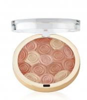 MILANI - Illuminating Face Powder - ULTRA-SMOOTH HIGHLIGHTER, BRONZER & BLUSH - Róż, bronzer i rozświetlacz w jednym - 02 HERMOSA ROSE - 02 HERMOSA ROSE
