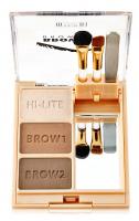 MILANI - BROW FIX - BROW KIT - Zestaw do stylizacji brwi - 02 MEDIUM