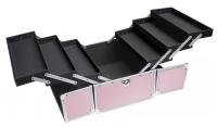 LOVETO.PL - Make-up box - PINK STRIP