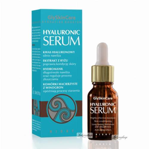 GlySkinCare - Hyaluronic Serum - Wysoko skoncentrowane serum z kwasem hialuronowym - 30ml