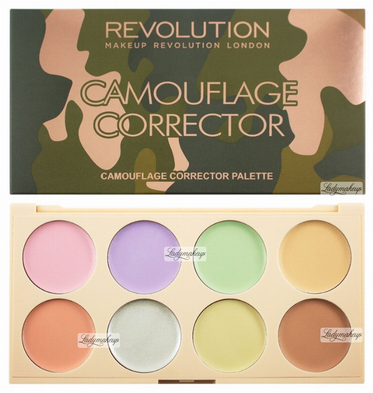 makeup revolution camouflage corrector palette. Black Bedroom Furniture Sets. Home Design Ideas