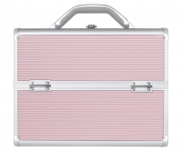LOVETO.PL - Make-up box - PINK STRIP