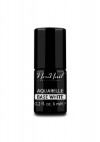 NeoNail - Aquarelle Base - Hybrid Varnish Base - 6 ml - WHITE - 5485-1 - WHITE - 5485-1