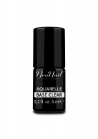 NeoNail - Aquarelle Base - Hybrid Varnish Base - 6 ml - CLEAR - 5486-1 - CLEAR - 5486-1