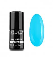 NeoNail - Aquarelle Color - Lakier Hybrydowy - 6 ml  - 5512-1 - Blue Aquarelle - 5512-1 - Blue Aquarelle