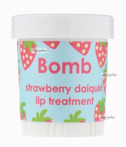 Bomb Cosmetics - Lip Balm - Strawberry Daiquiri - Intensive Mouth Treatment