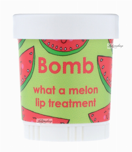 Bomb Cosmetics - Lip Treatment - What a Melon! - Intensywna kuracja do ust ARBUZOWA