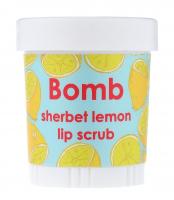 Bomb Cosmetics - Lip Scrub - Sherbet Lemon - Scrub do ust CYTRYNOWY SORBET