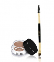 MILANI - Stay Put Brow Color - Pomada do brwi + dwustronny pędzelek - 02 NATURAL TAUPE - 02 NATURAL TAUPE