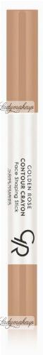 Golden Rose - CONTOUR CRAYON - Face Shaping Stick - Kredka do konturowania