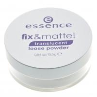 Essence - Fix & Matte - Transparentny Puder Matujący
