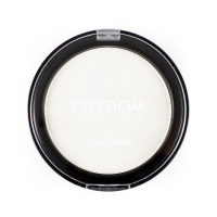 FREEDOM - HD PRO FINISH POWDER - TRANSLUCENT - Puder prasowany - TRANSPARENTNY