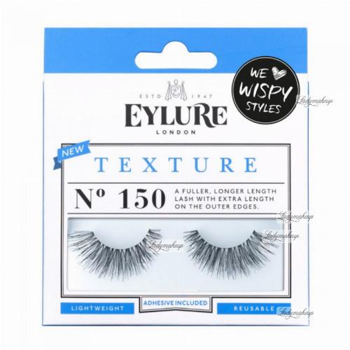 EYLURE - TEXTURE - NR 150 - Rzęsy z klejem - Efekt wypełnienia