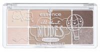 Essence - All about NUDES eyeshadow - Paleta 8 cieni do powiek - 02 NUDES - 754315
