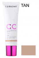 LUMENE - CC Color Correcting Cream - CC Cream - TAN - TAN