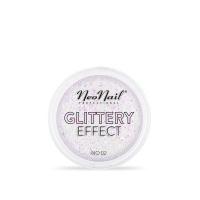 NeoNail - GLITTERY EFFECT - Gruby pyłek do stylizacji paznokci - Efekt brokatu - 02 - 02