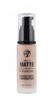 W7 - It's a Matte made in Heaven - HEAVENLY MATTE FOUNDATION - Matujący podkład do twarzy - NATURAL BEIGE - NATURAL BEIGE