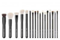 LOVETO.PL - Set of 17 make-up brushes + cosmetic bad