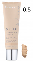 LUMENE - Longwear BLUR Foundation - Podkład wygładzający - 0.5 - FAIR NUDE - 0.5 - FAIR NUDE