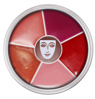 KRYOLAN - LIP ROUGE WHEEL - Kółko 6 szminek do ust - ART. 1216
