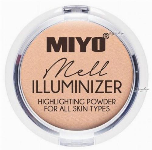 MIYO - ILLUMINIXE - Highlighting Powder For All Skin Types - Rozświetlacz do twarzy, ciała i powiek