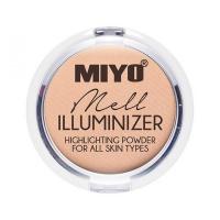 MIYO - ILLUMINIZER - Highlighting Powder For All Skin Types - Rozświetlacz do twarzy, ciała i powiek - 01 - MELL - 01 - MELL
