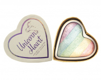 I Heart Revolution - Unicorns Heart - A RAINBOW HIGHLIGHTER MADE BY UNICORNS - Tęczowy rozświetlacz