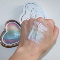 I ♡ Makeup - Unicorns Heart - A RAINBOW HIGHLIGHTER MADE BY UNICORNS - Tęczowy rozświetlacz