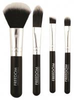 FREEDOM - MINI KIT BRUSH SET - 4 make-up brushes
