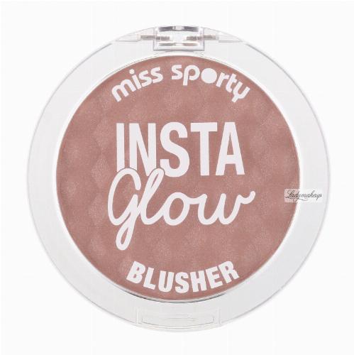 Miss Sporty - Insta Glow BLUSHER - Rozświetlający róż do policzków