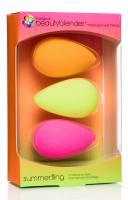 Beautyblender - summer.fling - 3 makeup sponges - Zestaw 3 gąbek do aplikacji kosmetyków