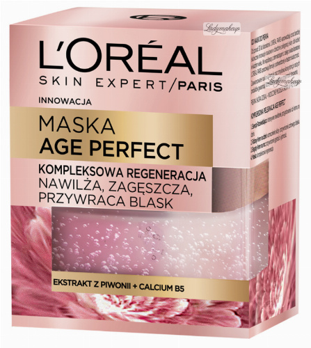 L'Oréal - AGE PERFECT - CREAM-MASK - Complex regeneration for mature skin
