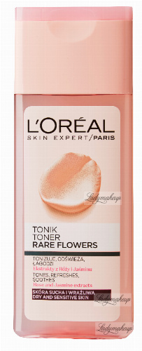 L'Oréal - RARE FLOWERS TONER - For dry and sensitive skin