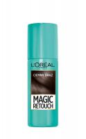 L'Oréal - MAGIC RETOUCH - Spray do błyskawicznego retuszu odrostów - CIEMNY BRĄZ - CIEMNY BRĄZ