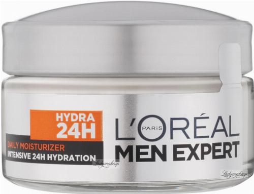 L'Oréal MEN EXPERT - DAILY MOISTURIZER INTENSIVE 24H HYDRATION - Intensywnie nawilżający krem do twarzy