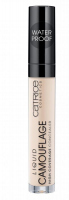 Catrice - LIQUID CAMOUFLAGE HIGH COVERAGE CONCEALER - Korektor w płynie - 005 - LIGHT NATURAL - 005 - LIGHT NATURAL