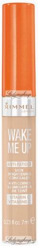RIMMEL - WAKE ME UP - ANTI-AGING SKIN BRIGHTENING CONCEALER - Korektor rozświetlający