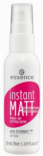Essence - INSTANT MATT - Make-up Setting Spray