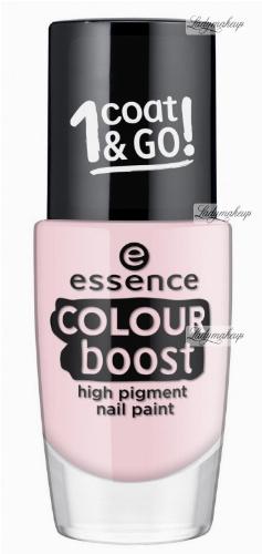 Essence - COLOUR BOOST - High Pigment Nail Paint - Lakier do paznokci o wysokiej pigmentacji