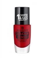 Essence - COLOUR BOOST - High Pigment Nail Paint - Lakier do paznokci o wysokiej pigmentacji - 04 - INSTANT LOVE - 04 - INSTANT LOVE