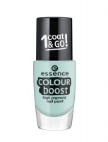 Essence - COLOUR BOOST - High Pigment Nail Paint - Lakier do paznokci o wysokiej pigmentacji - 06 - INSTANT HAPPINESS - 06 - INSTANT HAPPINESS