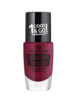 Essence - COLOUR BOOST - High Pigment Nail Paint - Lakier do paznokci o wysokiej pigmentacji - 09 - INSTANT PASSION - 09 - INSTANT PASSION