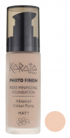Karaja - PHOTO FINISH - PORE MINIMIZING FOUNDATION - Advanced Colour Purity - Podkład perfekcyjnie matujący - 104 - 104