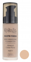 Karaja - PHOTO FINISH - PORE MINIMIZING FOUNDATION - Advanced Colour Purity - Podkład perfekcyjnie matujący - 107 - 107