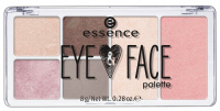 Essence - EYE & FACE PALETTE - Paleta do makijażu - 01